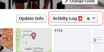 You can click on Activity Log from your timeline to review, delete or change the audience for anything you've ever posted.