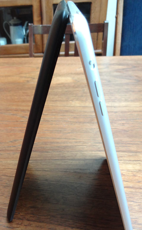 In my Forbes review, I let the Nexus 7 (in black) duke it out with the ipad mini (dressed in white)