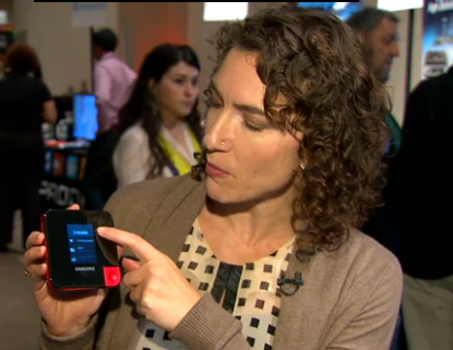 In a video (click here to view) CNET's Jessica Dolcourt shows off the new Samsung/T-Mobile hotspot