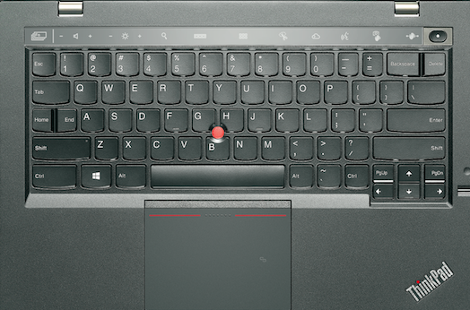 Lenovo X1 carbon with adaptive keyboard
