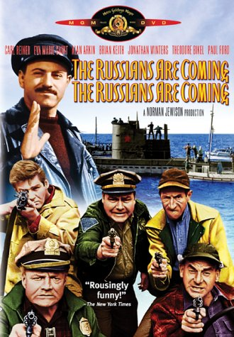 "No need for Russians to come ashore. They can invade through cyberspace (from 1966 movie ""The Russians Are Coming. The Russians Are Coming."""