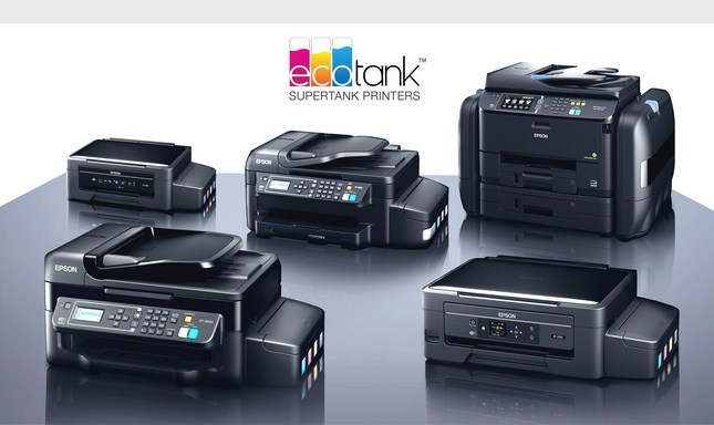 Epson EcoTank printers save money on ink. (PRNewsFoto/Epson America, Inc.