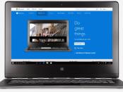 Windows 10 running on a Mac