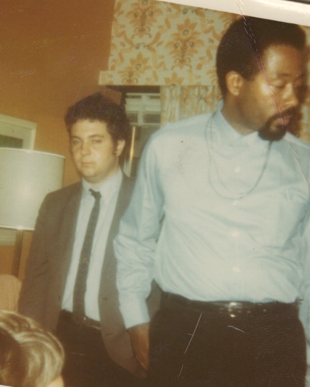 Eldridge Cleaver and Larry Magid, November, 1968